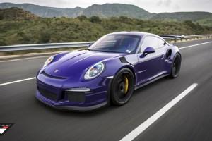 Purple Vorsteiner Porsche 911 GT3 RS