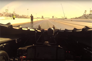 Shawn Langdon POV Drag Race