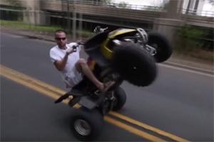 Friday FAIL: ATV Crash