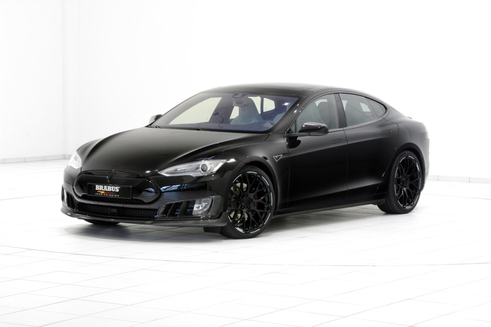 Brabus Zero Emission Tesla Model S