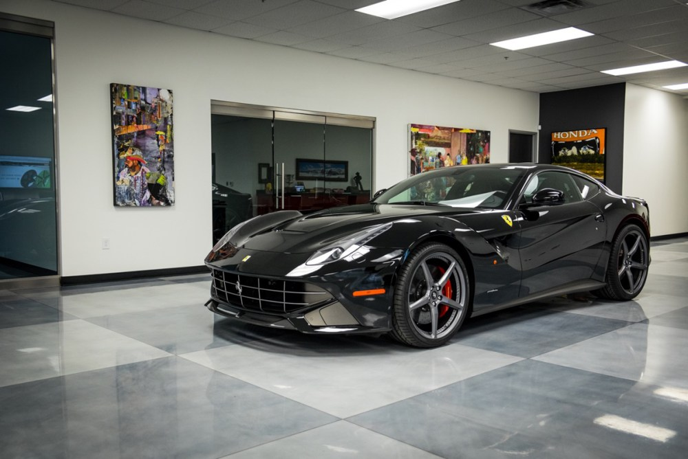 Ferrari F12Berlinetta with Fondmetal Signature Series FMS 07 Forged Wheels