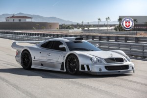 Mercedes-Benz CLK GTR with HRE P103 Forged Wheels (2)
