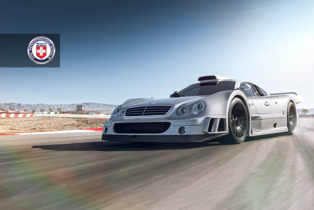 Mercedes-Benz CLK GTR with HRE P103 Forged Wheels (6)