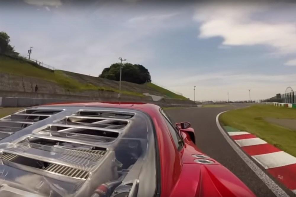 Ferrari F40 LM at Suzuka Circuit