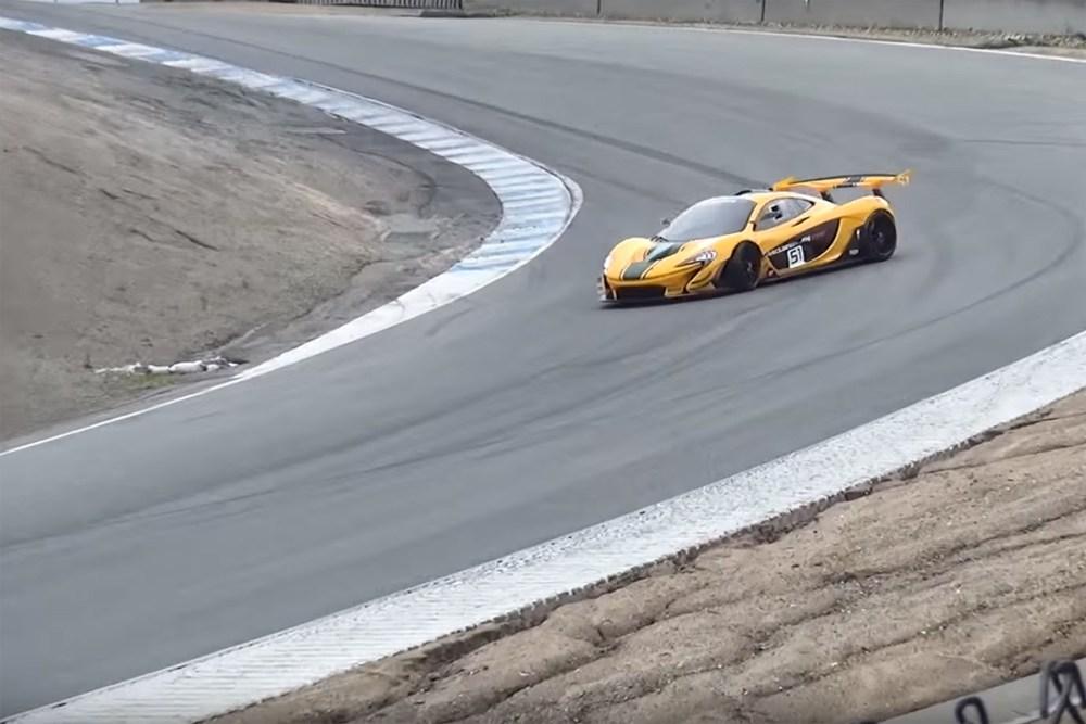 McLaren P1 GTR Close Call