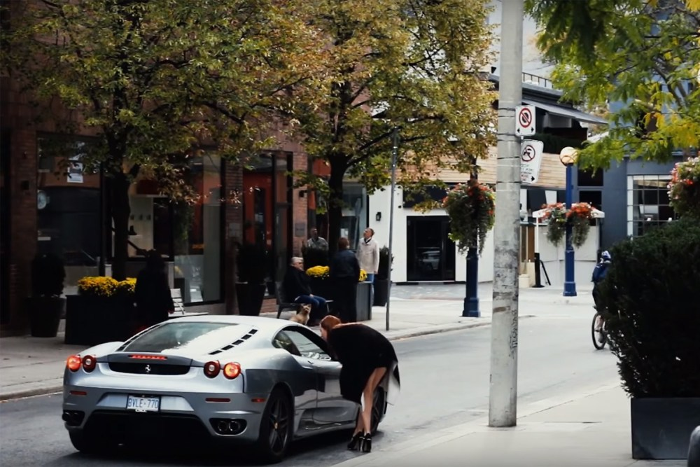 Ferrari Reactions in Toronto