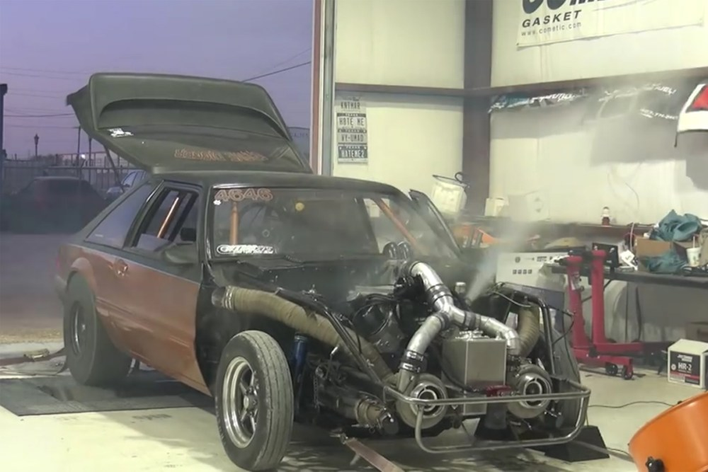 Ford Mustang Blows Engine Dyno