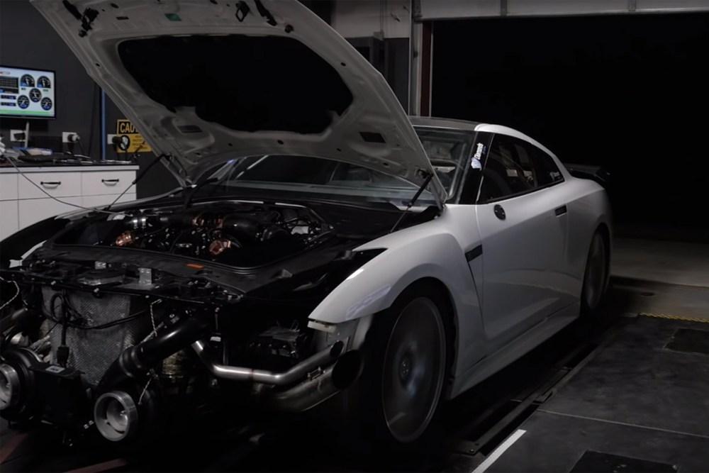 AMS Performance GT-R Dyno Run