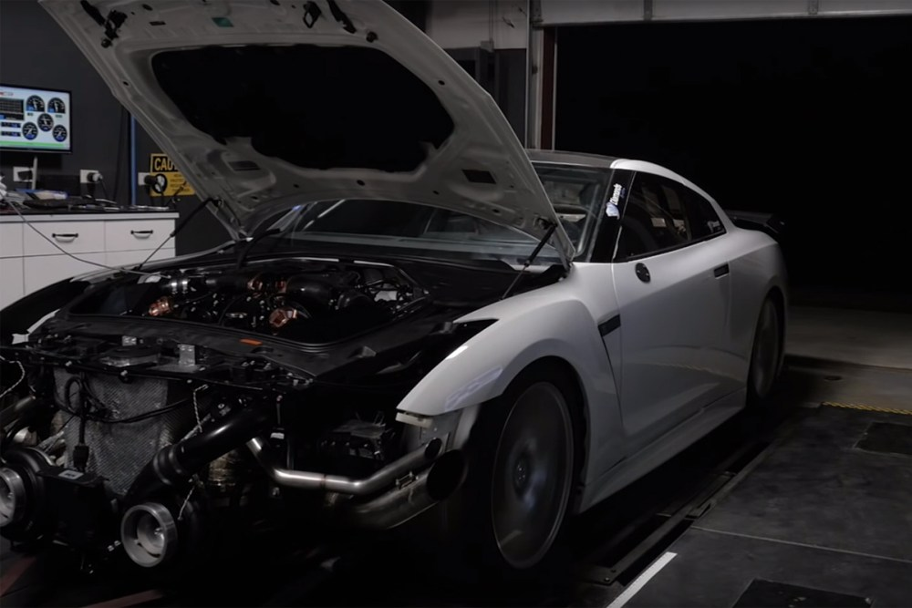 AMS Performance GT-R Dyno Run