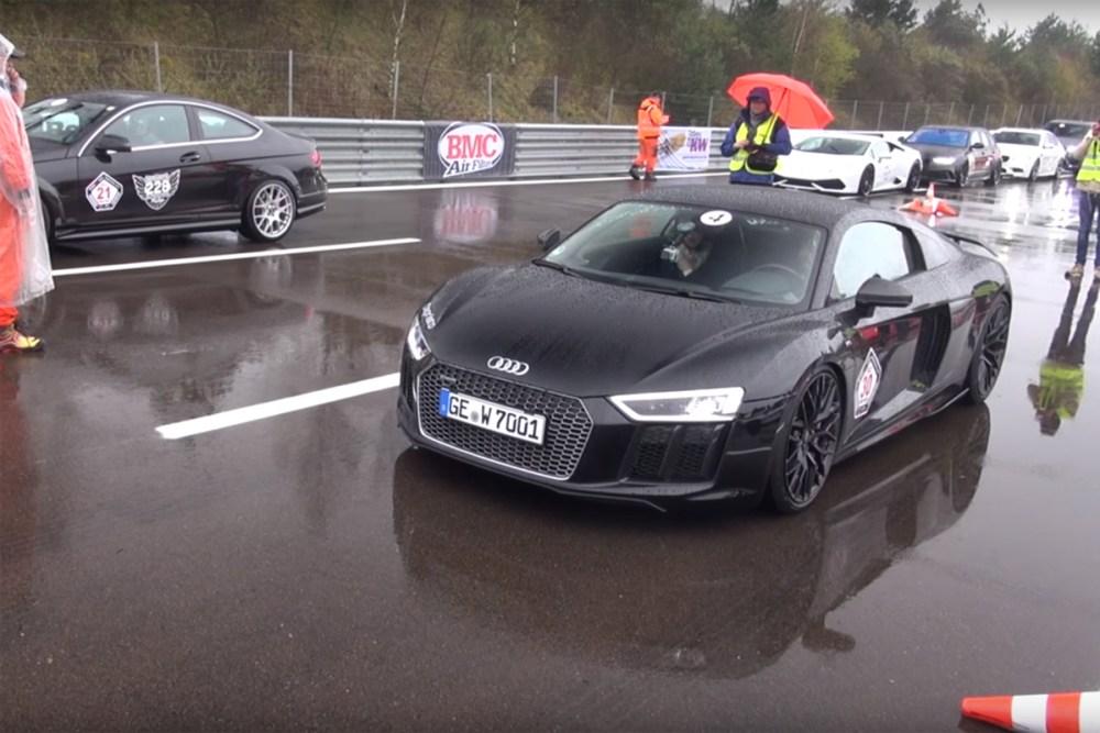 Audi R8 V10 Plus Capristo Exhaust