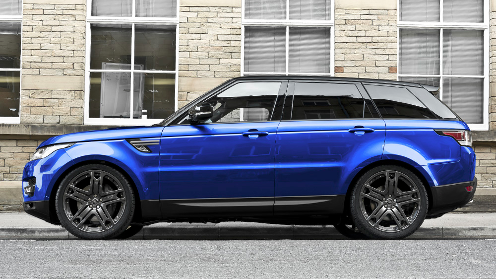 Project Kahn Range Rover Sport 5.0 V8 Supercharged Autobiography Dynamic Colours of Kahn edition in Estoril Blue