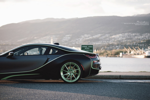 BMW i8 with R10D Duo Series forged wheels