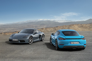 718 Cayman and 718 Cayman S