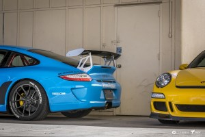 997.2 Porsche 911 GT3 with Vorstiner V-FF 101 Flow Forged wheels
