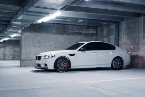 BMW M5 with Brixton Forged CM8 Targa Series Wheels