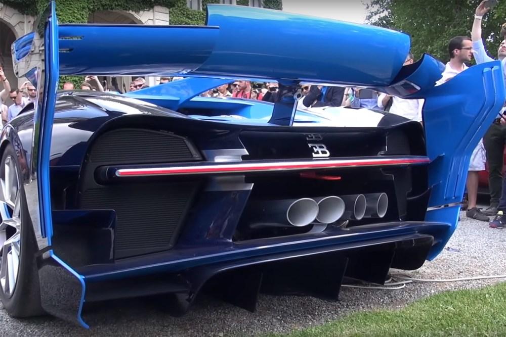 Bugatti Vision Gran Turismo Concept Exhaust Note