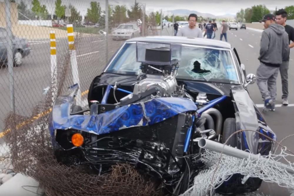 Friday FAIL Camaro Crash Car Show
