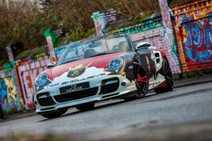 TIP-Exclusive Porsche 911 Turbo Cabriolet Art Car