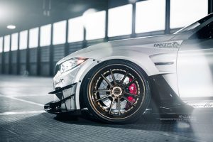 Varis Widebody BMW M4 with Brixton Forged M51 Targa Series Wheels