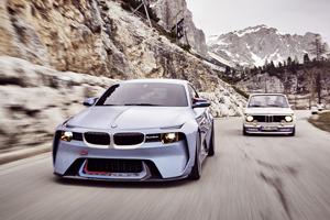 BMW 2002 Hommage Design Concept