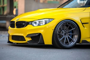 F80 BMW M3 with Brixton Forged R10D Targa Series Wheels