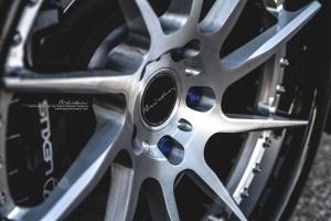 Lexus RC F with Brixton Forged R10D Targa Series Wheels