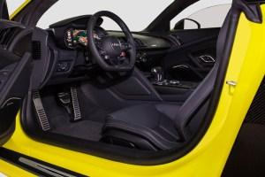 Sunflower Matte Metallic Fostla Audi R8 V10 Plus