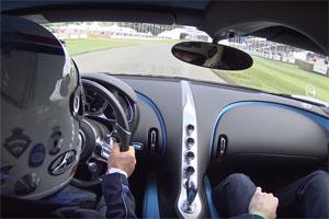 Bugatti Chiron Goodwood Festival of Speed POV