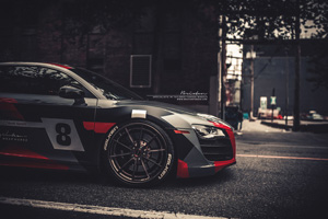 Audi R8 V10 with Brixton Forged WR3 Forged Wheels