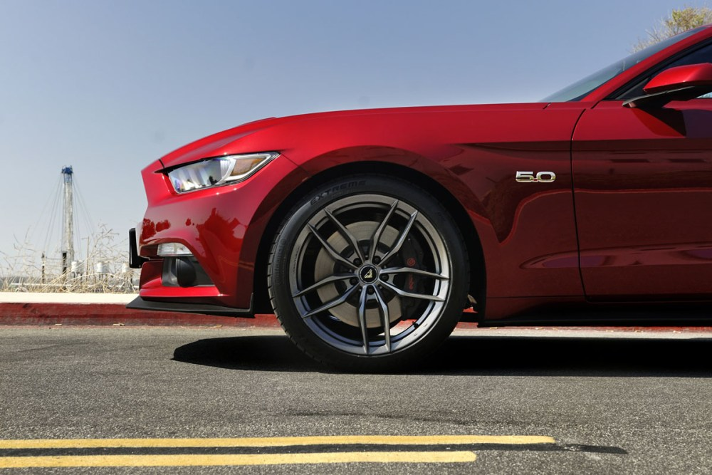 Ford Mustang GT with Vorsteiner V-FF 105 Flow Forged Wheels