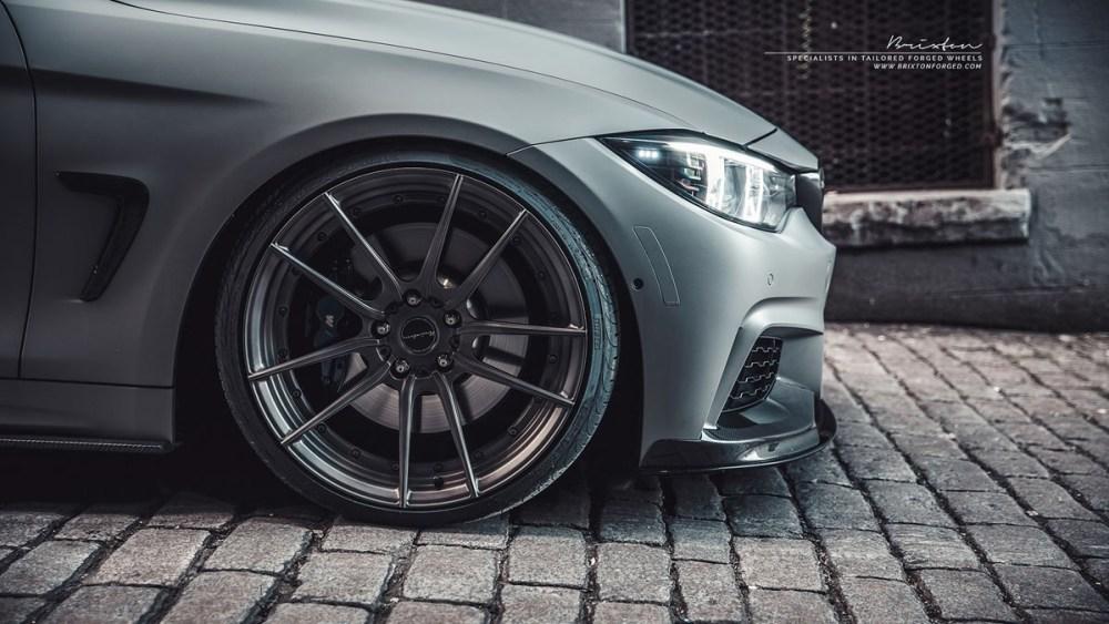 BMW 435i M Performance Brixton Forged M53 Duo Series Wheels