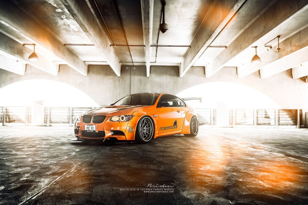 Liberty Walk BMW M3 with Brixton Forged WR3 Targa Series Wheels