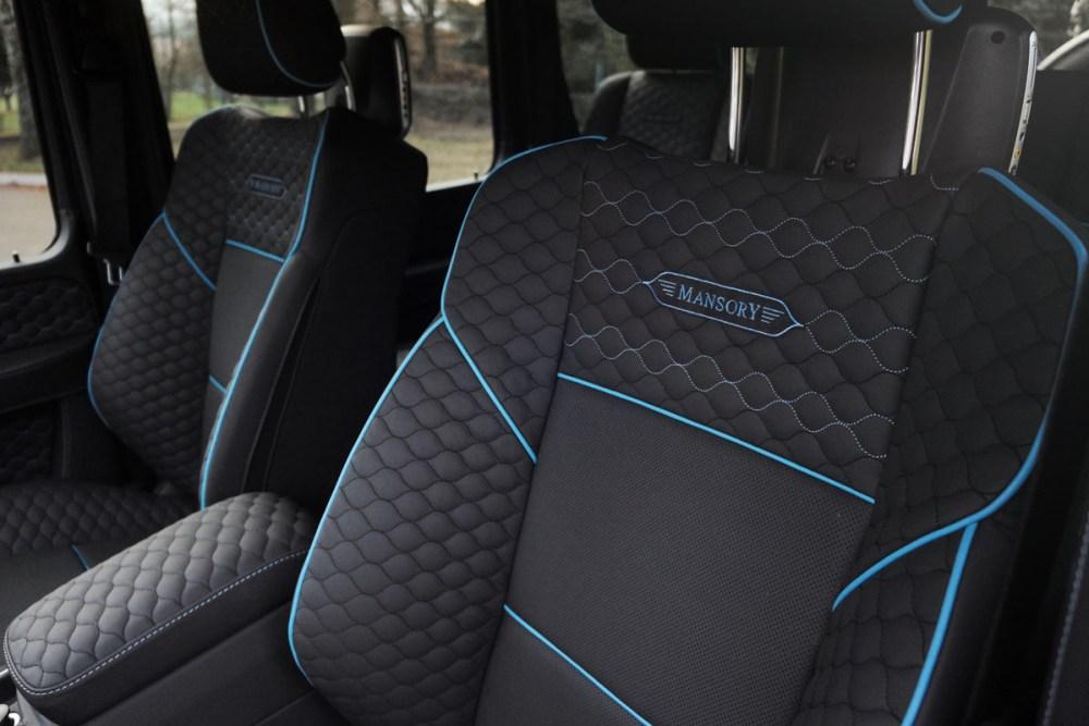 Mansory Mercedes-Benz G500 4×4²