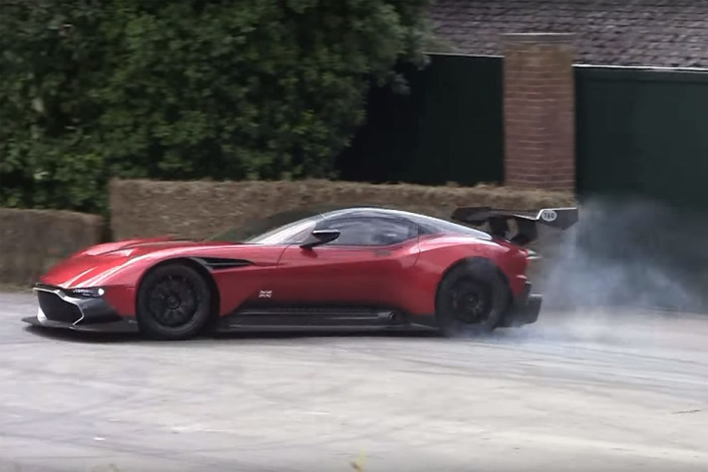 Aston Martin Vulcan Goodwood Festival of Speed