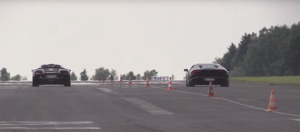 10-Second Porsche 918 Spyder