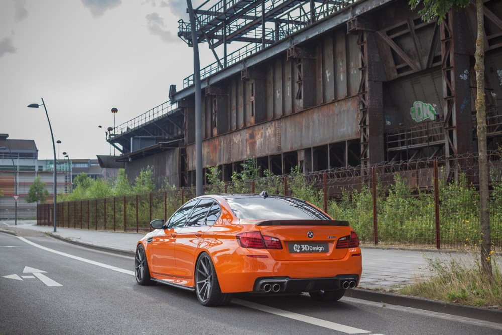 Carbonfiber Dynamics Fire Orange BWM M5 by 3DDesign