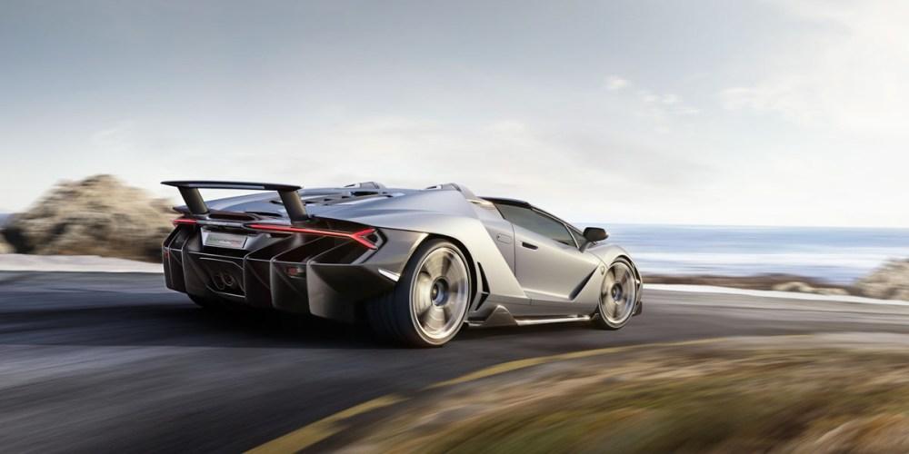 The Lamborghini Centenario Roadster Is A Birthday Gift