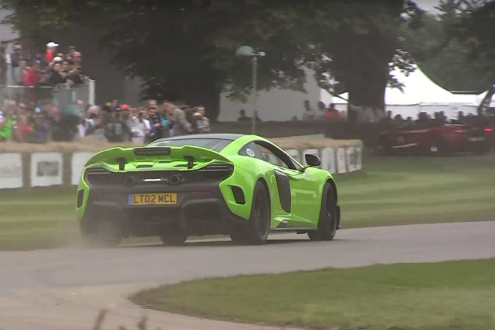 Goodwood Festival of Speed Burnouts