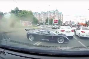 Ultima GTR Crashes in Russia