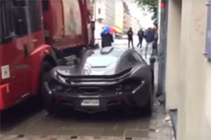 McLaren P1 Tight Squeeze