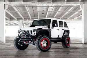 Starwood Motors Jeep Wrangler Center Line Wheels