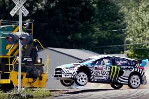 Gymkhana Nine: Raw Industrial Playground