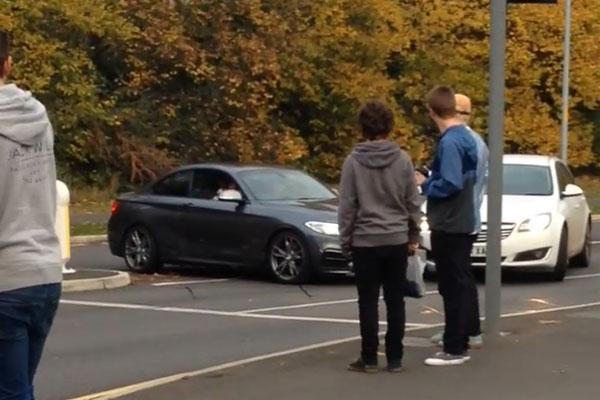BMW M2 Drift Crash FAIL