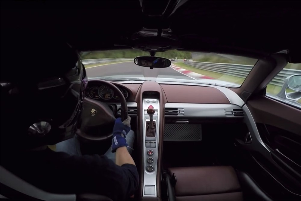 Porsche Carrera GT Nürburgring Nordschleife