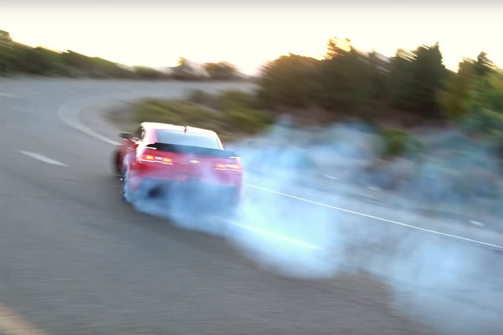 Camaro Z/28 Drift
