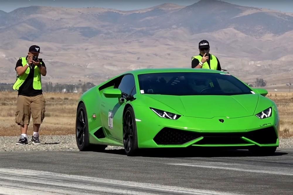Underground Racing Twin Turbocharged Lamborghini Huracan