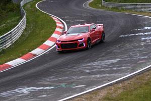 2017 Chevrolet Camaro ZL1 Nürburgring Nordschleife 7:29.60