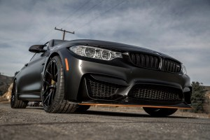 BMW M4 GTS with Vorsteiner VSE-101 Forged Wheels
