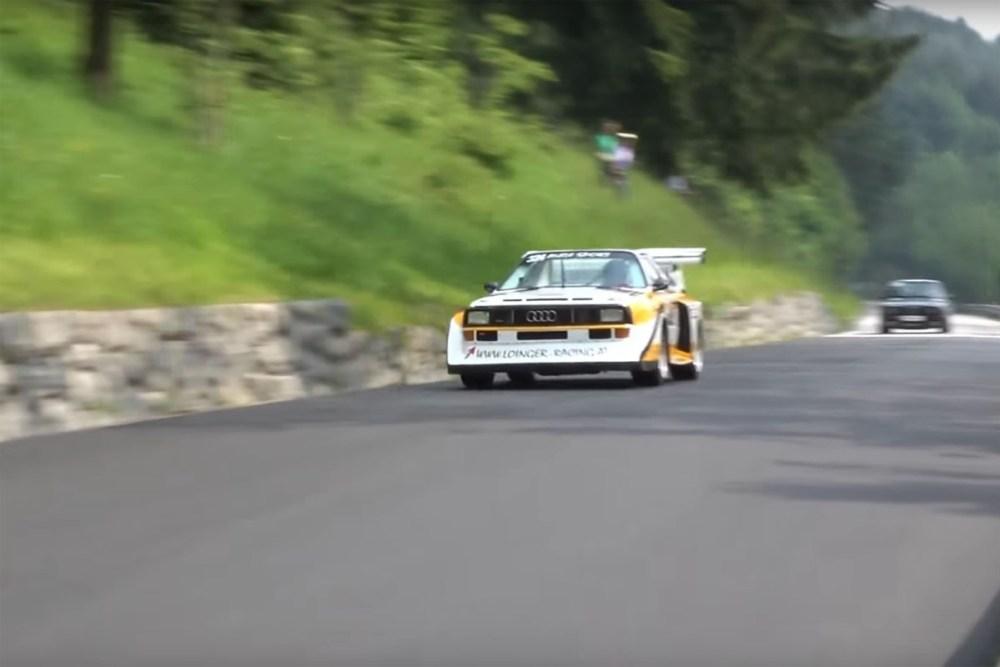 Audi Quattro S1 Hillcimb Replica