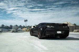 Chevrolet Corvette Z06 with Brixton Forged M53 Ultrasport+ Wheels by ACG Automotive